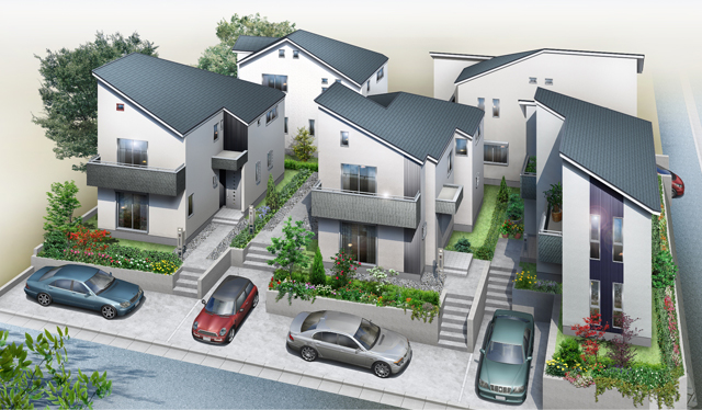 コンフォルトゥ新百合ヶ丘新築分譲住宅5棟